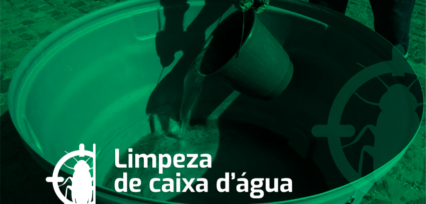 Informações gerais sobre limpeza de caixa d'água